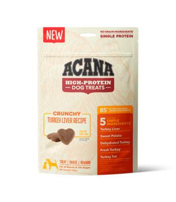 Acana Snacks Crunchy - Hígado de pavo