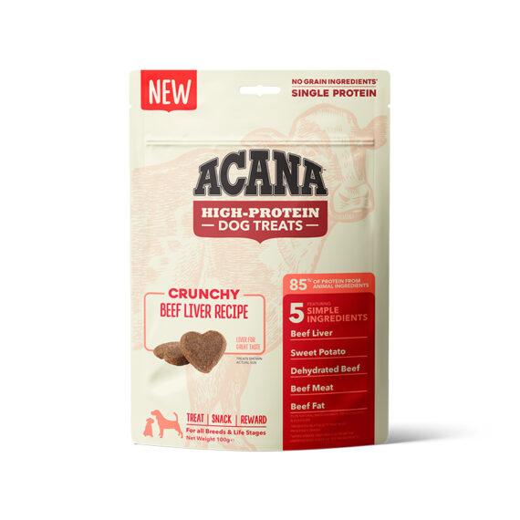 Acana Snacks Crunchy - Hígado de ternera